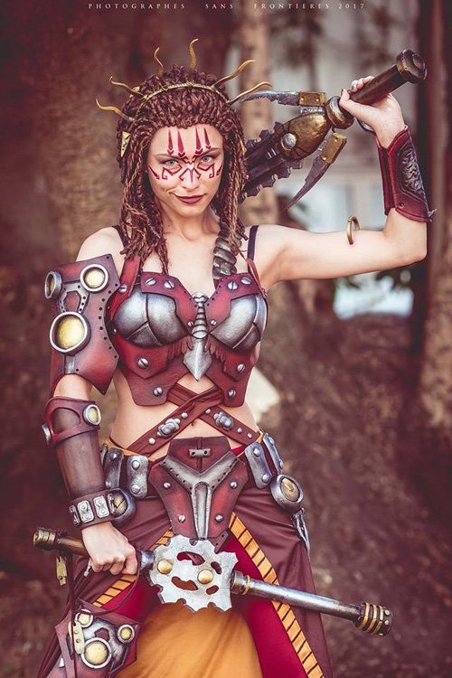 Jeska from Magic: The Gathering Cosplay