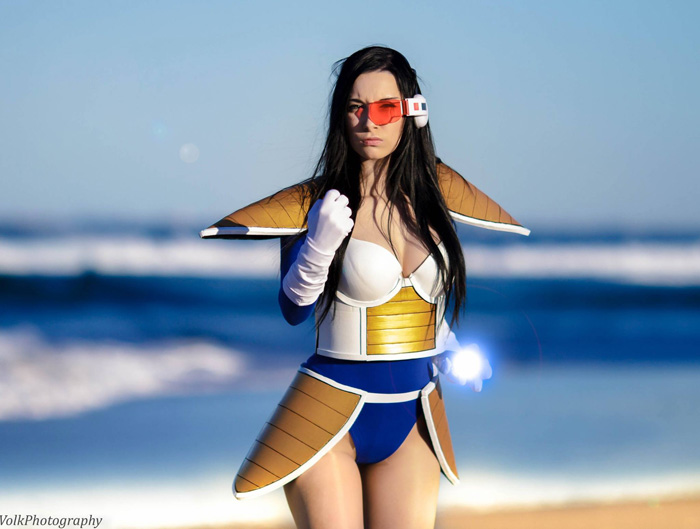 Vegeta from Dragon Ball Cosplay