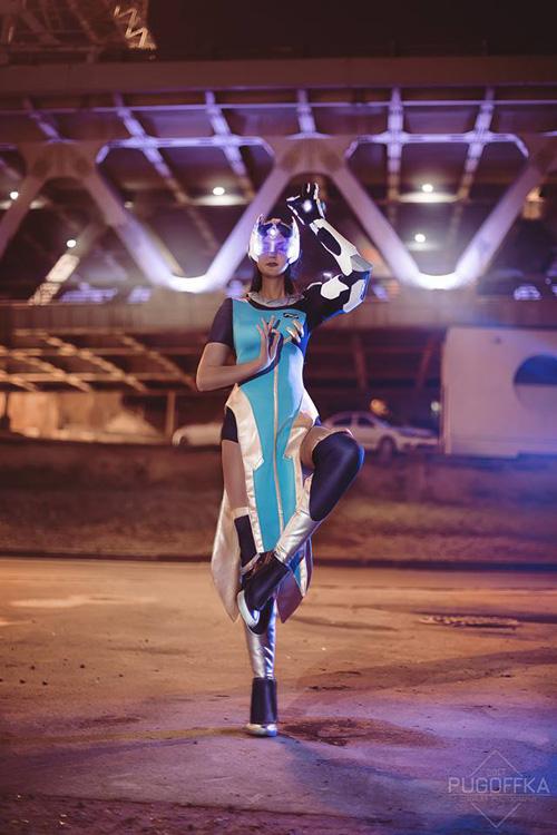 Widowmaker & Symmetra from Overwatch Cosplay