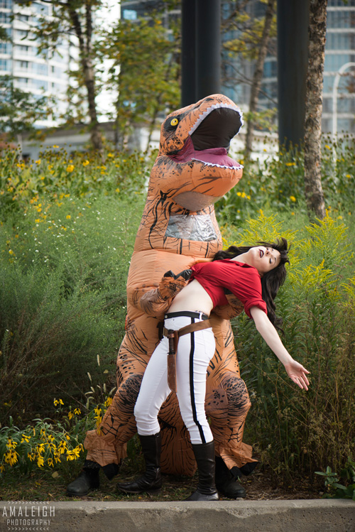 Hannah Dundee from Cadillacs and Dinosaurs Cosplay