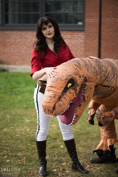 Hannah Dundee From Cadillacs And Dinosaurs Cosplay