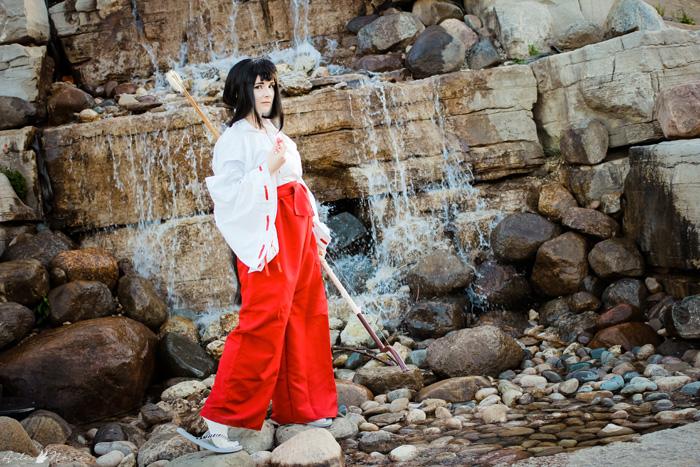 Kikyo from Inuyasha Cosplay