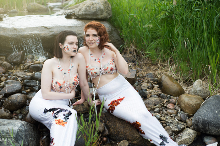 Koi Mermaids Photoshoot