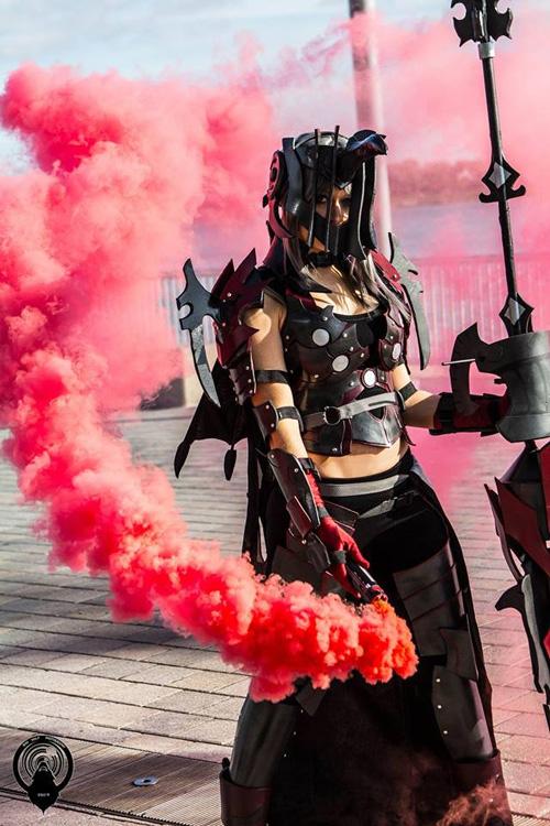 Aranea Highwind from Final Fantasy XV Cosplay