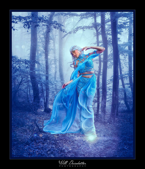 Blue Fairy Photoshoot