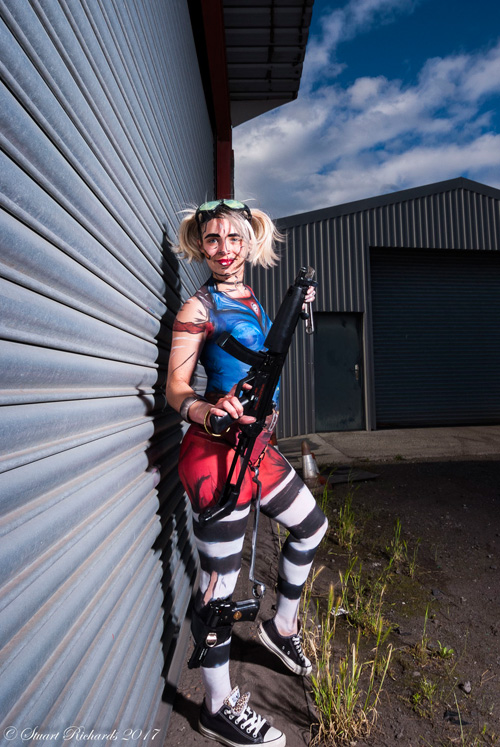 Gaige from Borderlands Body Paint