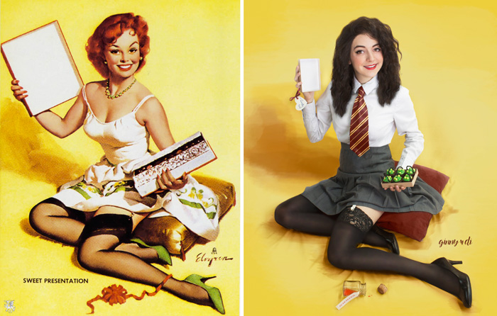 Harry Potter Pinups