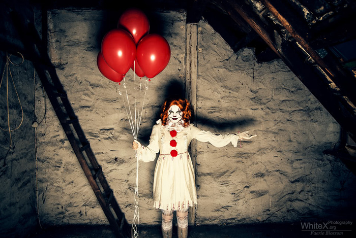 Female Pennywise from IT Cosplay