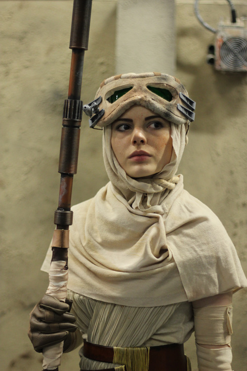Rey from Star Wars VII Cosplay