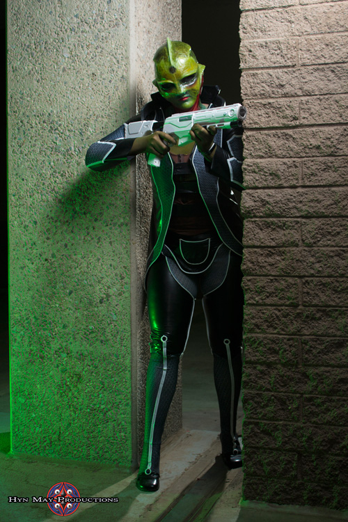 Rule 63 Thane Krios from Mass Effect 2 Cosplay