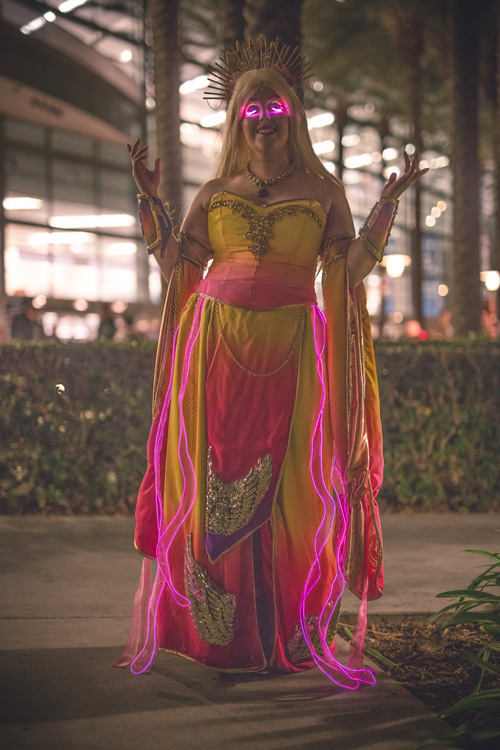 Ashes of Alar from World of Warcraft Cosplay