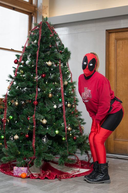 Christmas Deadpool Cosplay