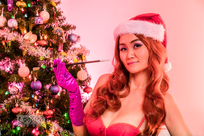 Christmas Jessica Rabbit Photoshoot