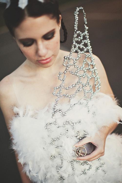 Katniss Wedding Dress Cosplay