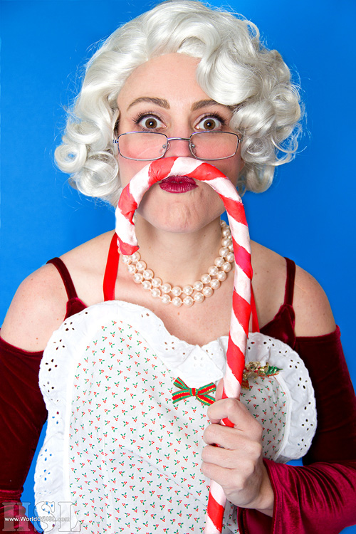 Mrs. Claus Christmas Pinup