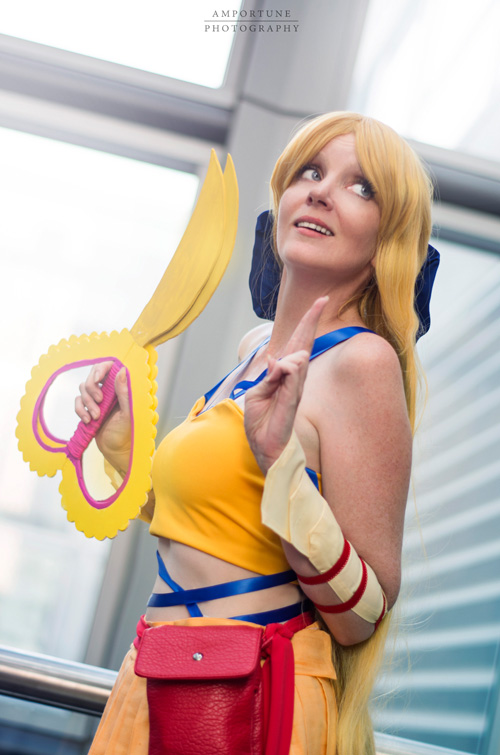 Sailor Moon x Final Fantasy X-2 Crossover Group Cosplay