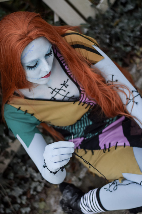 Sally from The Nightmare Before Christmas Cosplay