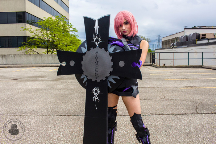 Shielder from Fate Grand Order Cosplay