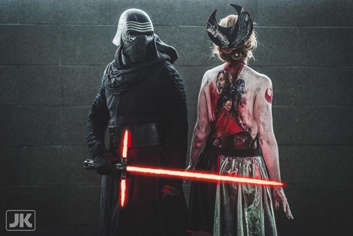 Star Wars: The Last Jedi Body Paint