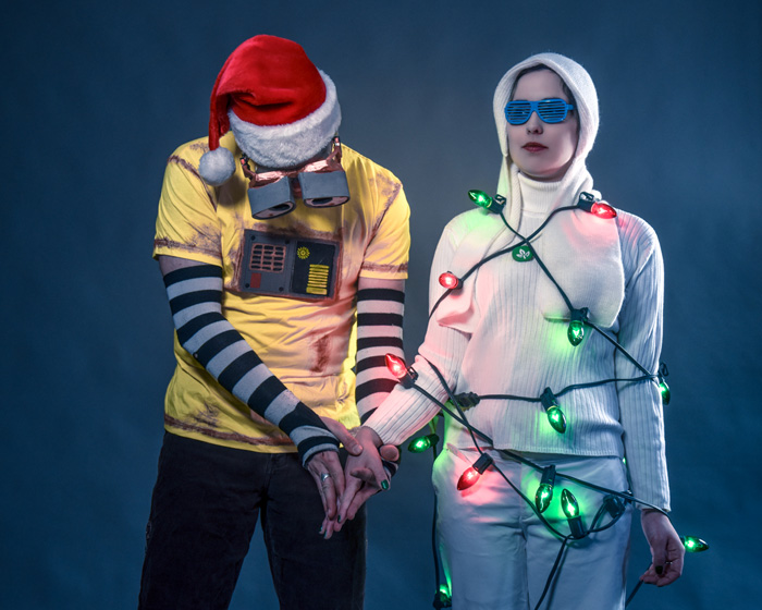 Christmas WALL-E & EVE Cosplay
