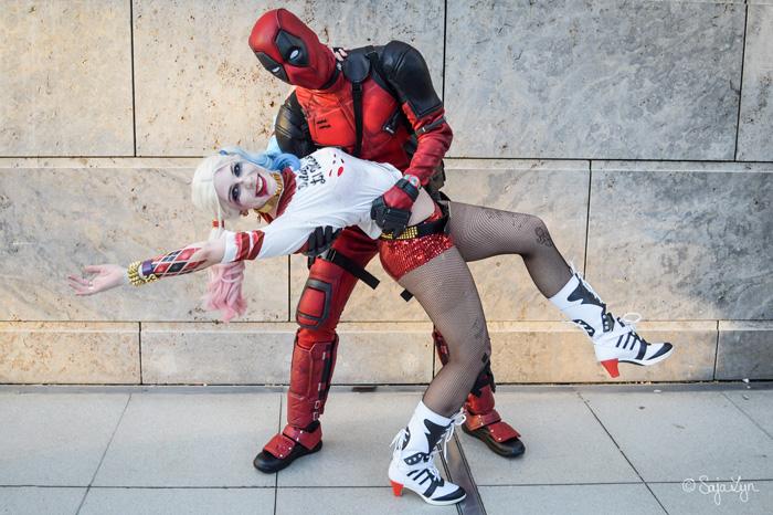 Harley Quinn & Deadpool Cosplay