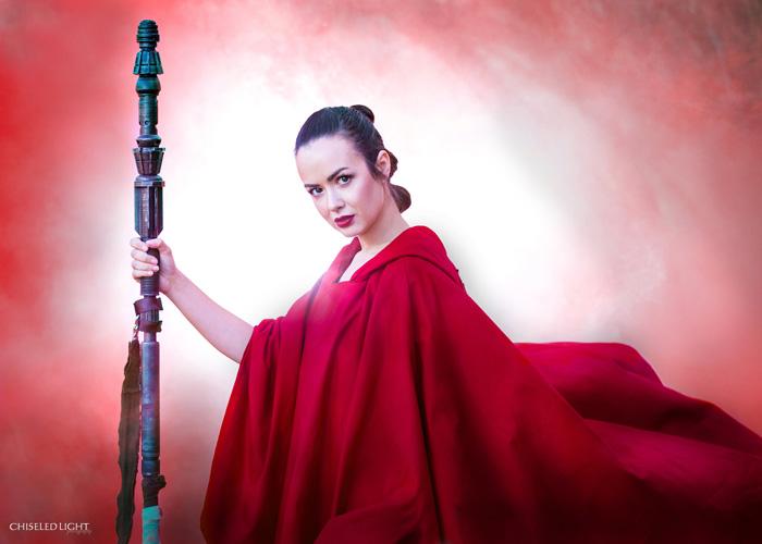Star Wars: The Last Jedi Promo Rey Cosplay