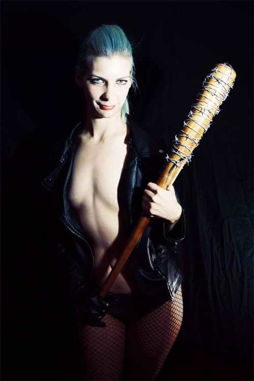 Sexy Negan from The Walking Dead Cosplay