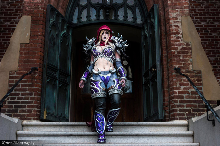 Sylvanas Windrunner from Warcraft Cosplay
