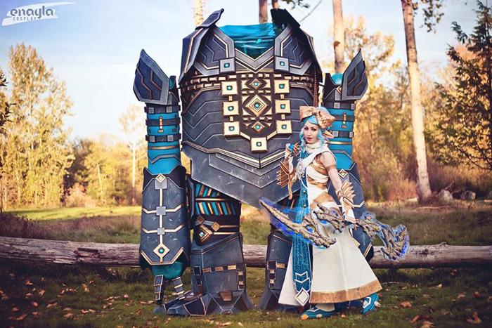 Asura & Golem Guild Wars 2 Cosplay