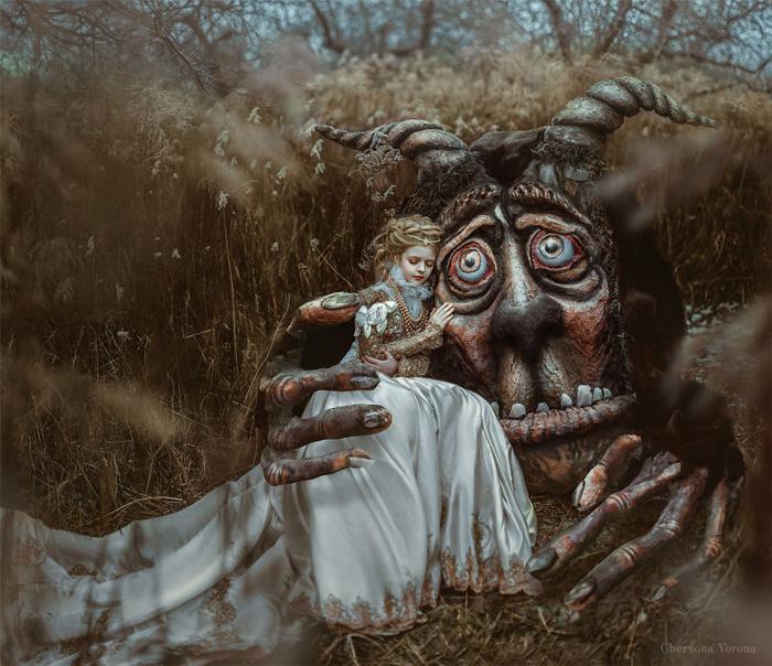 Beauty And The Beast Fantasy Photoshoot