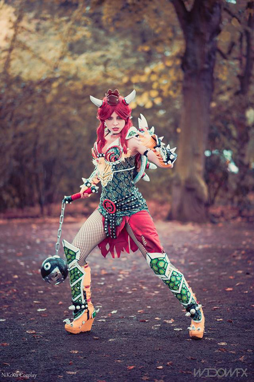 Female Bowser from Super Mario Cosplay