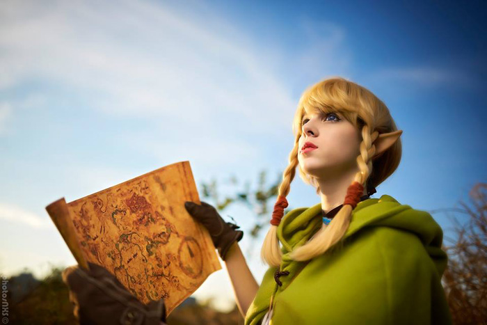 Linkle from Hyrule Warriors Legends Cosplay