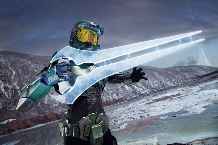 Master Chief from Halo Cosplay
