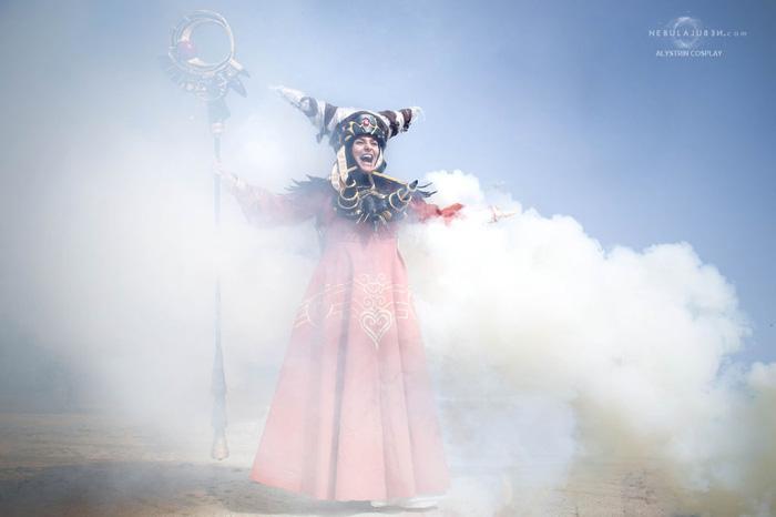 Rita Repulsa from Mighty Morphin Power Rangers Cosplay