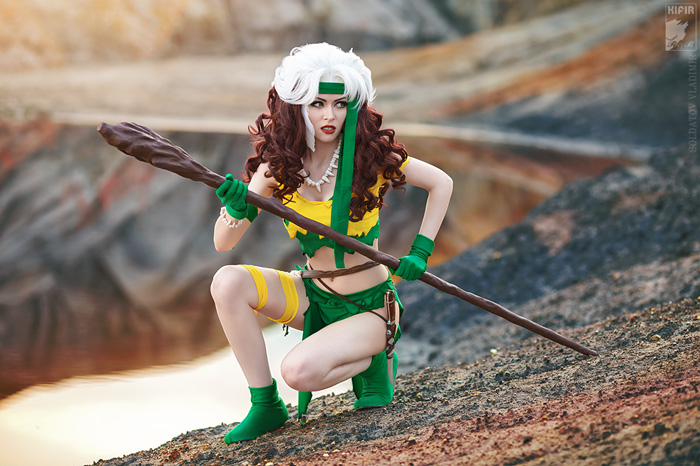 Savage Land Rogue Cosplay