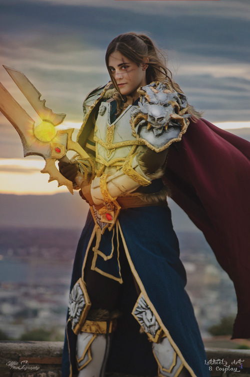 Varian Wrynn from  World of Warcraft Cosplay