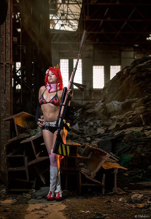 Yoko Littner from Gurren Lagann Cosplay