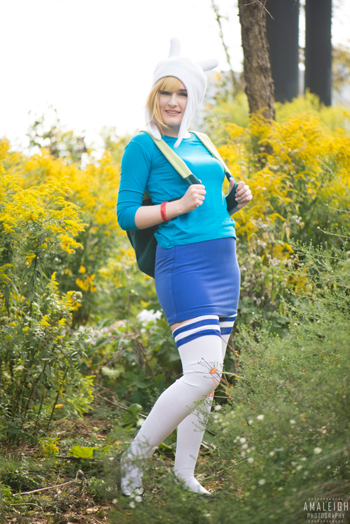 Fionna & Marshall Lee from Adventure Time Cosplay
