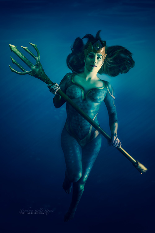 Mera Body Paint Photoshoot