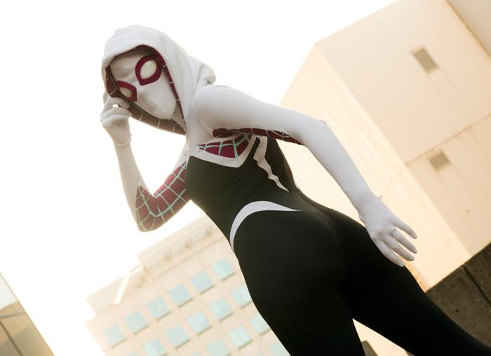 Spider Gwen Cosplay