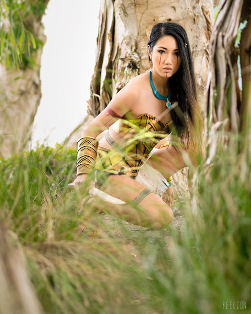 Battle Pocahontas Cosplay