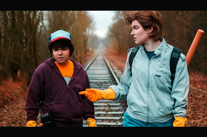Dustin & Steve from Stranger Things Cosplay