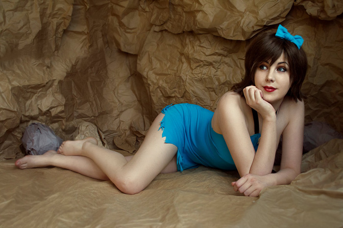 Betty Rubble Pinup Cosplay