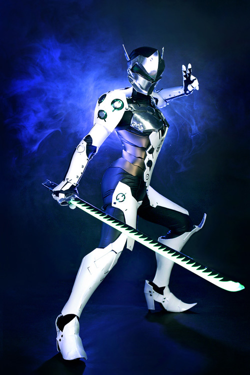 Genji from Overwatch Cosplay