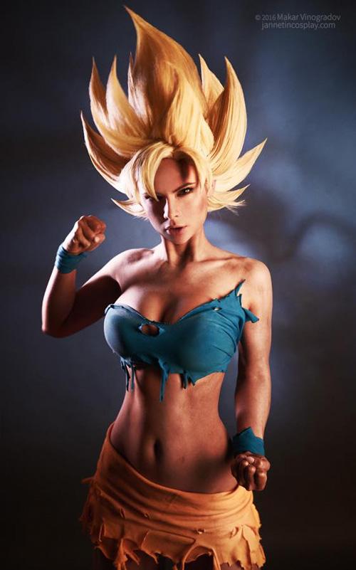 Goku from Dragon Ball Z Cosplay