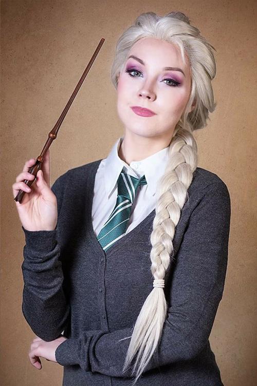 Hogwarts/Disney Mashup Cosplays