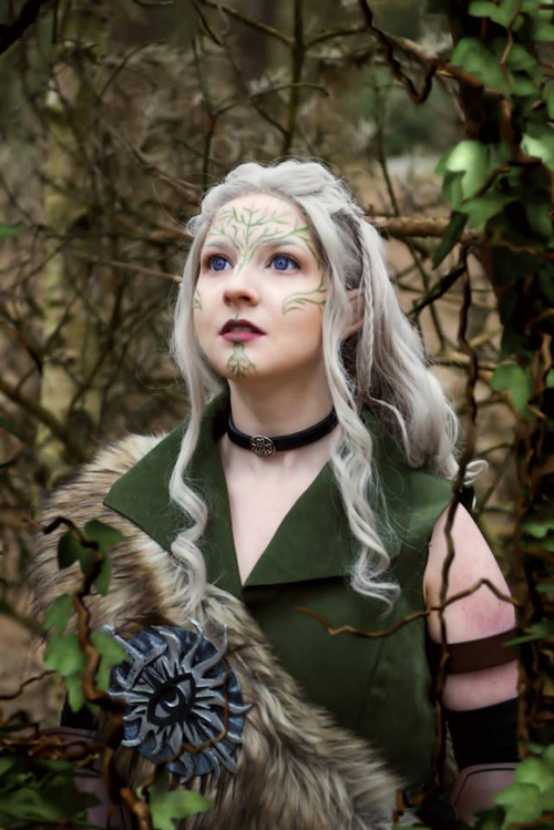 Inquisitor Lavellan from Dragon Age: Inquisition Cosplay