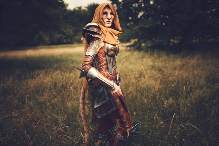 Khajiit from The Elder Scrolls Online Cosplay