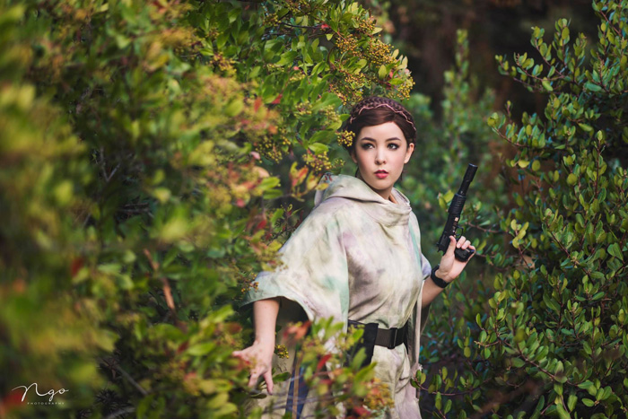 Princess Leia Cosplay