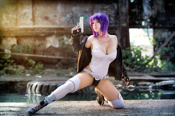 Motoko Kusanagi from Ghost in the Shell Cosplay